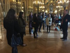 Tour of Opera de Paris Palais Garnier